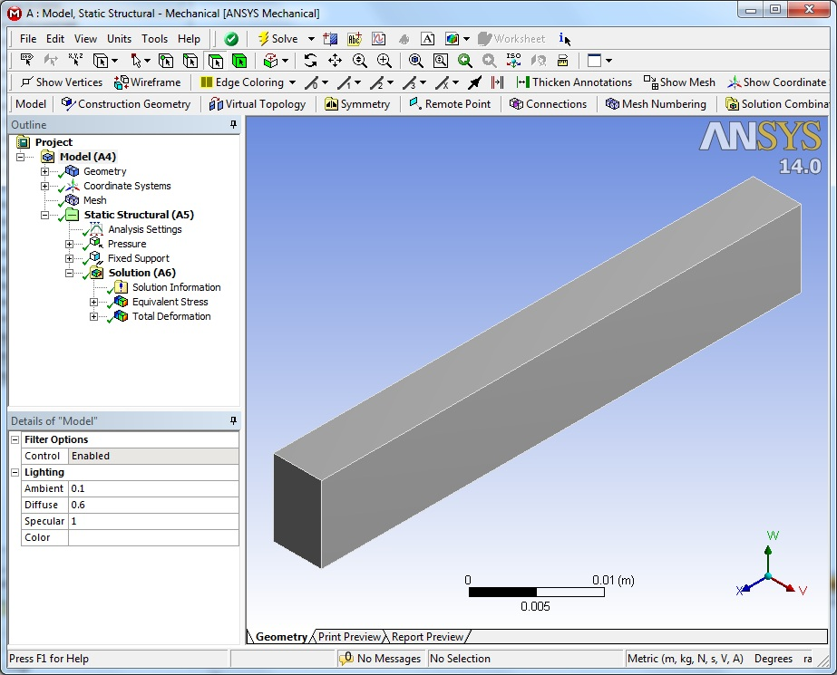 ANSYS Example